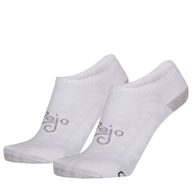 Ponožky Zajo Active Socks Lady Low White (dvojbalenie) - veľkosť L