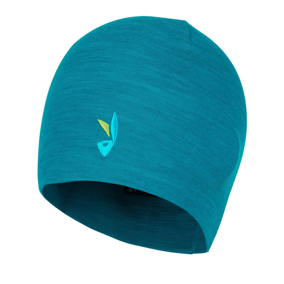 ZAJO Hals Head Merino Beanie Enamel Blue čiapka
