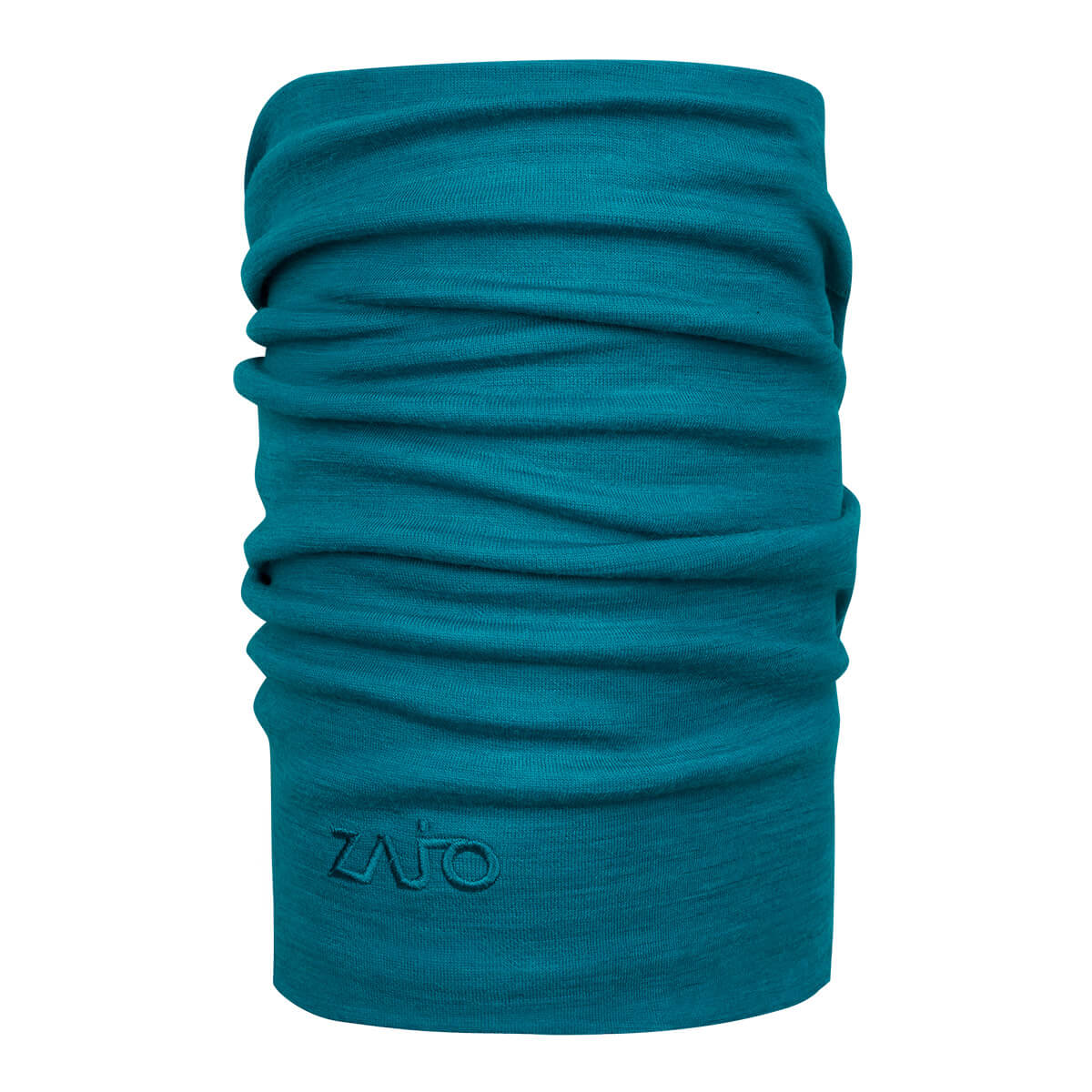 ZAJO Hals Unitube Enamel Blue Multifunkčná šatka z merino vlny