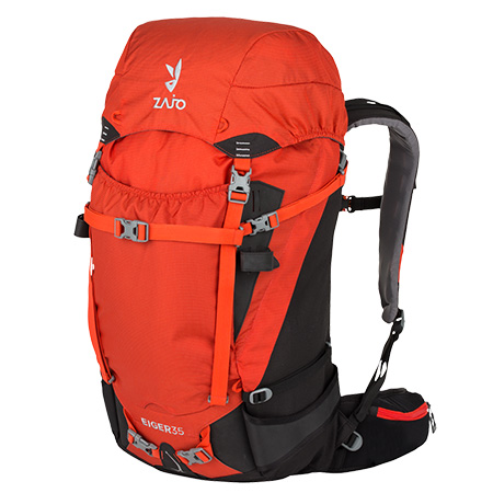 Batoh Eiger 35 Backpack Red Black