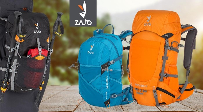 Či školák alebo turista - bez kvalitného batohu sa nezaobíde ani jeden. Siahnite po rôzne veľkých batohoch značky ZAJO s výstužou, množstvom priehradiek a zaujímavým dizajnom.