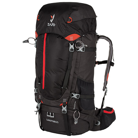 Batoh Zajo Lhotse 65 Backpack Black-Red