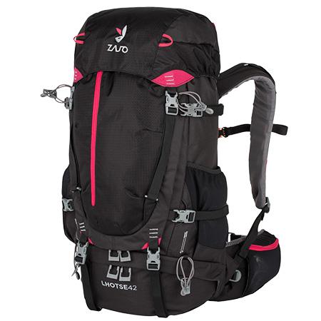 Batoh Zajo Lhotse 42 Backpack Black-Magenta