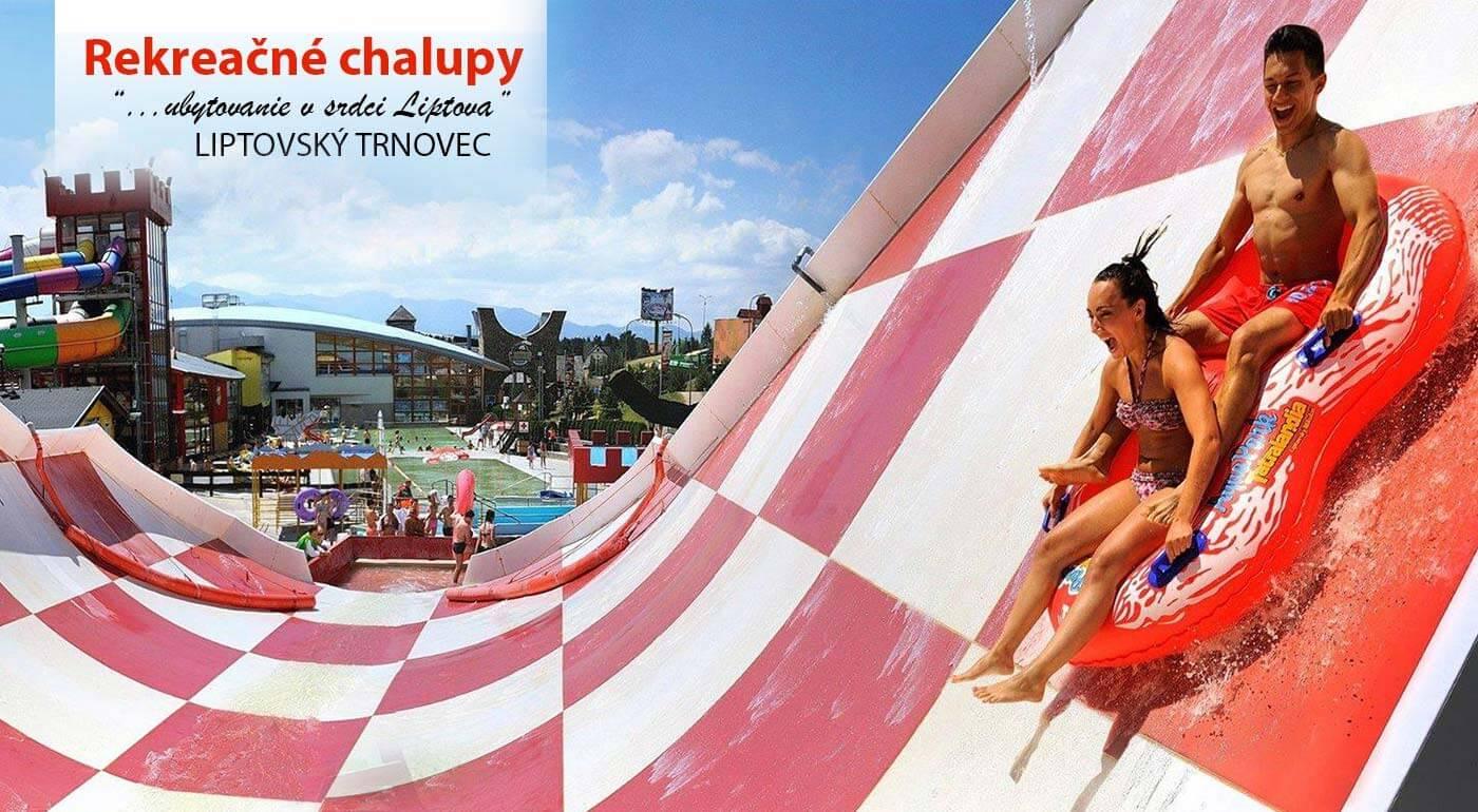 Liptov: Rekreačné chalupy s akciou 1+1 zadarmo na vstup do aquaparku Tatralandia alebo Bešeňová