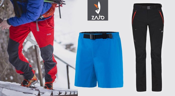 Pánske turistické nohavice ZAJO, bez ktorých sa nezaobíde žiadny správny turista. Vyrazte do hôr štýlovo, ale hlavne v pohodlí a s istotou kvalitného oblečenia, ktoré vás nebude obmedzovať.