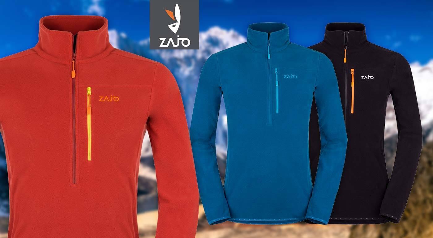 Fotka zľavy: V zime ani krok bez hrejivej fleecovej mikiny či svetra ZAJO. Kvalitné materiály, prevedenie, zipsy a štýlový dizajn za super ceny!