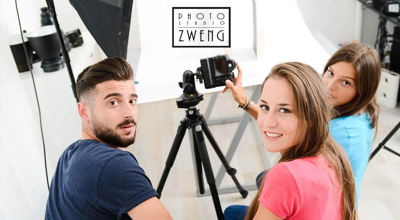 Kurz základy fotografie v Photo Studio Zweng v Bratislave
