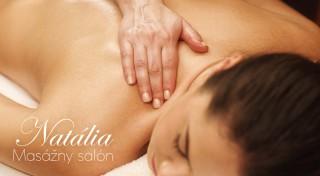 Zľava 69%: Doprajte relax celému telu na senzuálnej relaxačnej celotelovej olejovej masáži v Salóne Natália v centre Bratislavy. Nájdite si aspoň 60 minút pre dokonalý oddych!