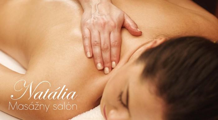 Fotka zľavy: Doprajte relax celému telu na senzuálnej relaxačnej celotelovej olejovej masáži v Salóne Natália v centre Bratislavy. Nájdite si aspoň 60 minút pre dokonalý oddych!