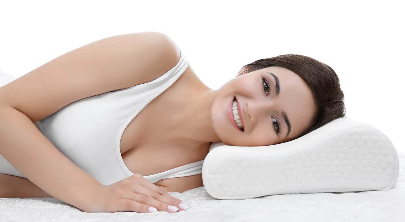 Fotka zľavy: Anatomický vankúš Memory Pillow pre dobrý spánok a bezbolestné rána