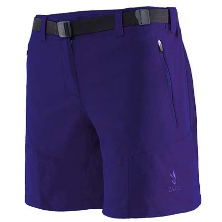 Krátke nohavice Zajo Tabea W Shorts Clematis - veľkosť XS