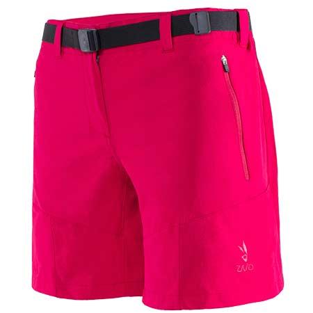 Krátke nohavice Zajo Tabea W Shorts Barberry - veľkosť S
