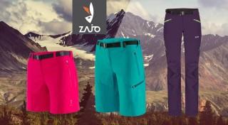 Zľava 0%: Turistické nohavice pre dámy, ktoré radi zdolávajú vysokohorské prekážky. Siahnite po kvalite od slovenskej značky ZAJO a vyberte si modely na turistiku, lyžovačku či profi vybavenie na expedície.