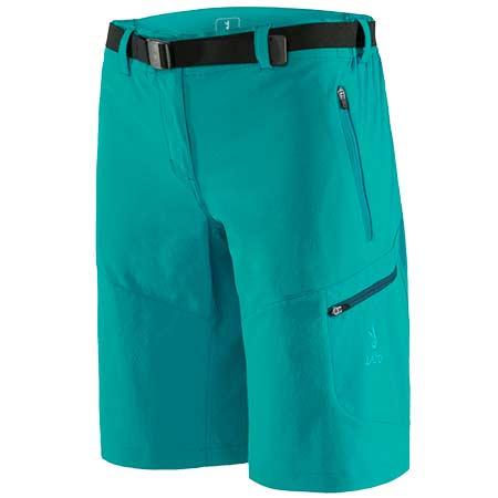 Krátke nohavice Zajo Tabea W Bermudas Tropical Green - veľkosť S