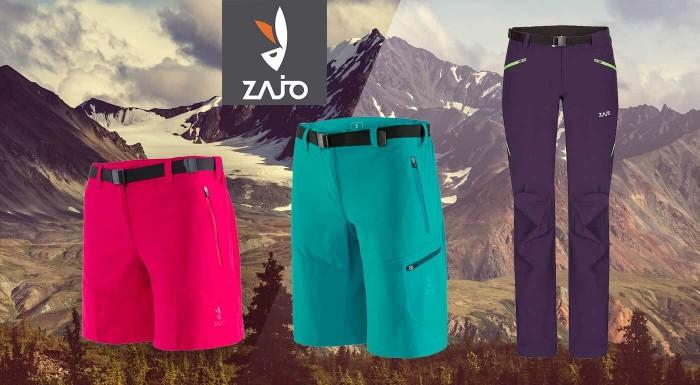 Fotka zľavy: Turistické nohavice pre dámy, ktoré radi zdolávajú vysokohorské prekážky. Siahnite po kvalite od slovenskej značky ZAJO a vyberte si modely na turistiku, lyžovačku či profi vybavenie na expedície.
