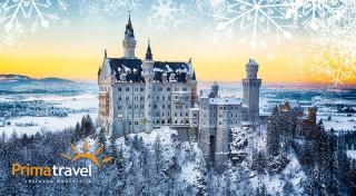 Zľava 35%: Ocitnite sa v pravej, nefalšovanej rozprávke. Vyberte sa spoznávať bavorské zámky počas Adventu, kedy sa zahaľujú do snehového závoja a predstavia vám stelesnenú nádheru.