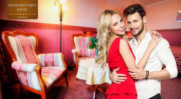 Fotka zľavy: Urobte si výlet do Piešťan a ubytujte sa v elegantnom Grand Boutique Hoteli Sergijo****. Počas jedinej čarovnej noci si užijete pohodlie, wellness a romantické chvíle vo dvojici.