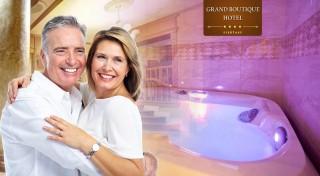 Zľava 54%: Senior pobyt v Grand Boutique Hoteli Sergijo**** Piešťany s plnou penziou, wellness a masážami. Vyberte si variant na 3, 4 alebo 5 dní.