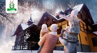Zľava 45%: Poďte si oddýchnuť počas Vianoc alebo Silvestra do Pienin. Prežite 4 nezabudnuteľné dni s wellness a skvelým jedlom v nádhernej prírode. Navštívte útulný hotel***+ ELAND.