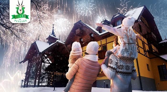 Fotka zľavy: Poďte si oddýchnuť počas Vianoc alebo Silvestra do Pienin. Prežite 4 nezabudnuteľné dni s wellness a skvelým jedlom v nádhernej prírode. Navštívte útulný hotel***+ ELAND.