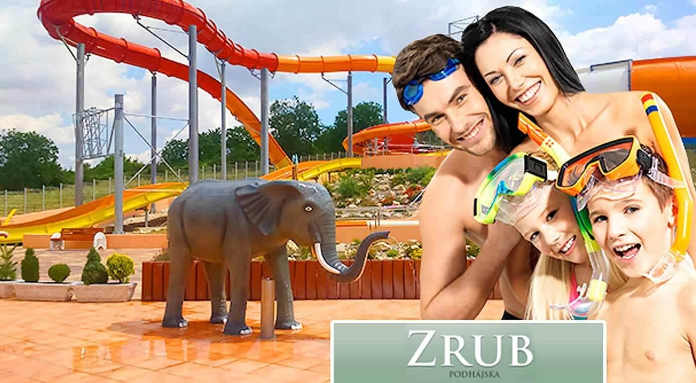 Ubytovanie pri termálnom kúpalisku Podhájska v Drevenici - Zrube. V ponuke sú balíčky na 3, 4, 5 alebo 8 dní pre priateľov aj rodinu.