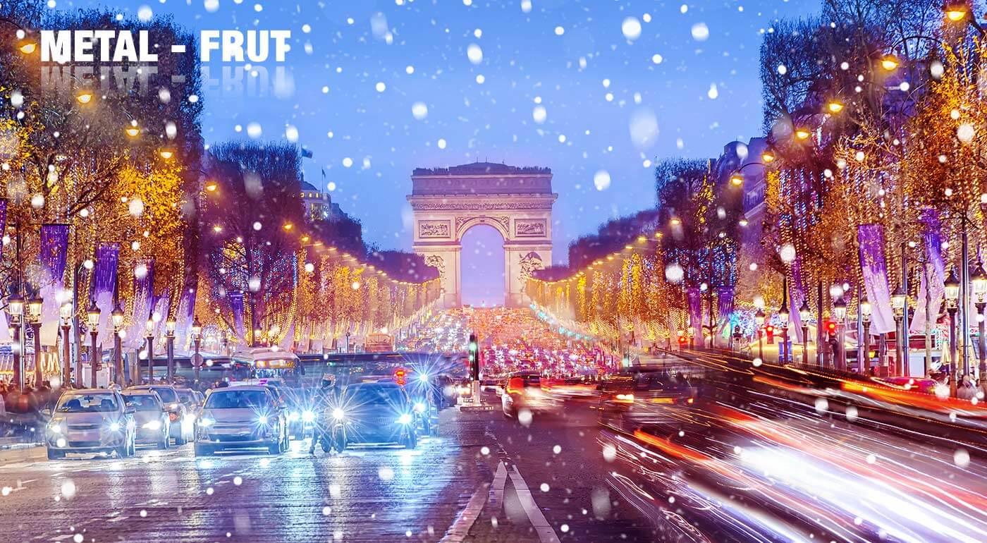 Adventný Paríž: návšteva vianočných trhov, Eiffelovka a Champs Elyseés v zimnej atmosfére