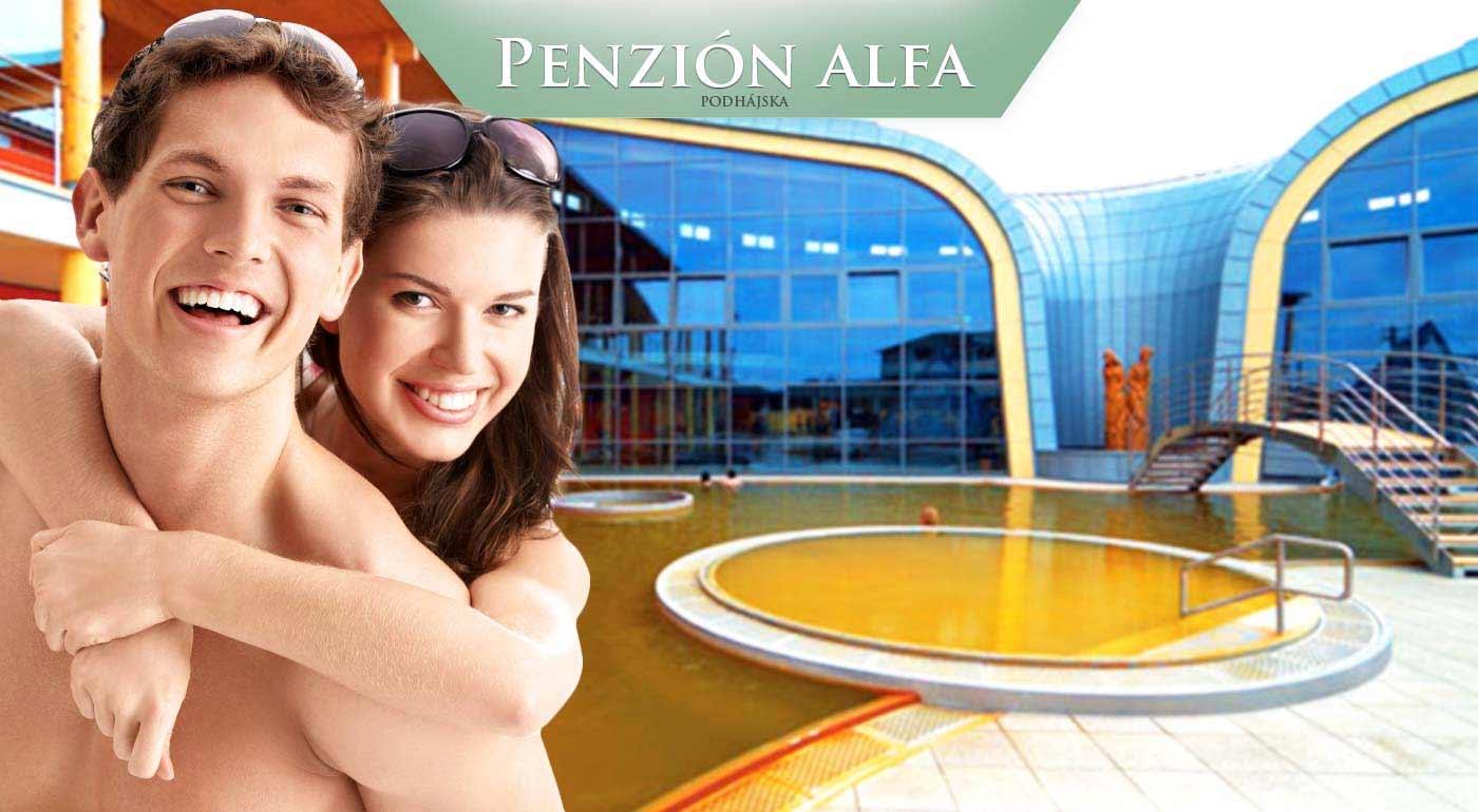 Podhájska: Príjemné ubytovanie v Penzióne Alfa neďaleko termálneho kúpaliska pre celú vašu rodinu