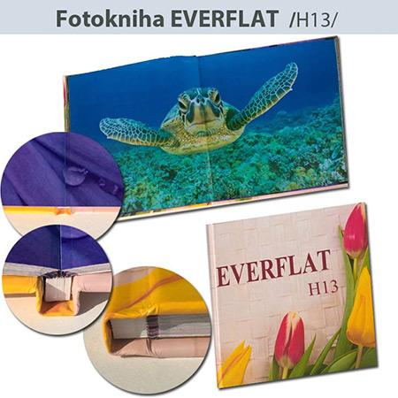 Fotokniha Everflat formát 30x30 cm - H13, 52 strán, tvrdá knižná väzba