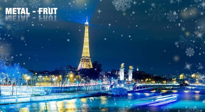 Fotka zľavy: Nalaďte sa na vianočnú vlnu návštevou najkrajšieho francúzskeho mesta. Spoznajte adventný Paríž za 4 dni a objavte najkrajšie pamiatky, vianočné trhy, Eiffelovku alebo navštívte Versailles.