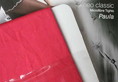 Dámske pančuchy Fiore Paula 40 DEN - farba raspberry - veľkosť S-2