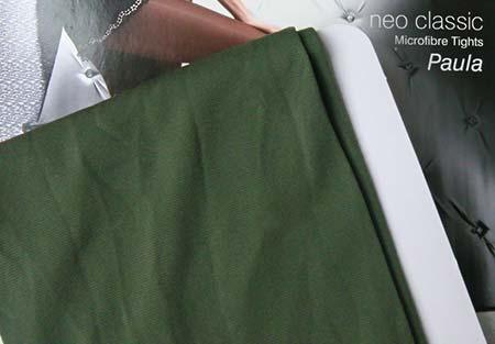 Dámske pančuchy Fiore Paula 40 DEN - farba dusty green - veľkosť S-2
