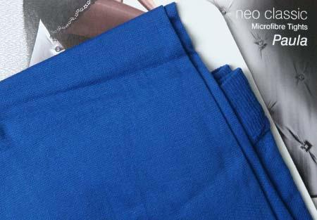 Dámske pančuchy Fiore Paula 40 DEN - farba cobalt - veľkosť S-2