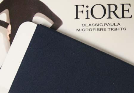 Dámske pančuchy Fiore Paula 40 DEN - farba navy blue - veľkosť S-2