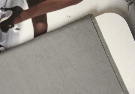 Dámske pančuchy Fiore Paula 40 DEN - farba light grey - veľkosť S-2