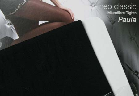 Dámske pančuchy Fiore Paula 40 DEN - farba black - veľkosť S-2