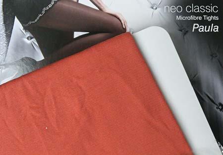 Dámske pančuchy Fiore Paula 40 DEN - farba papaya - veľkosť S-2
