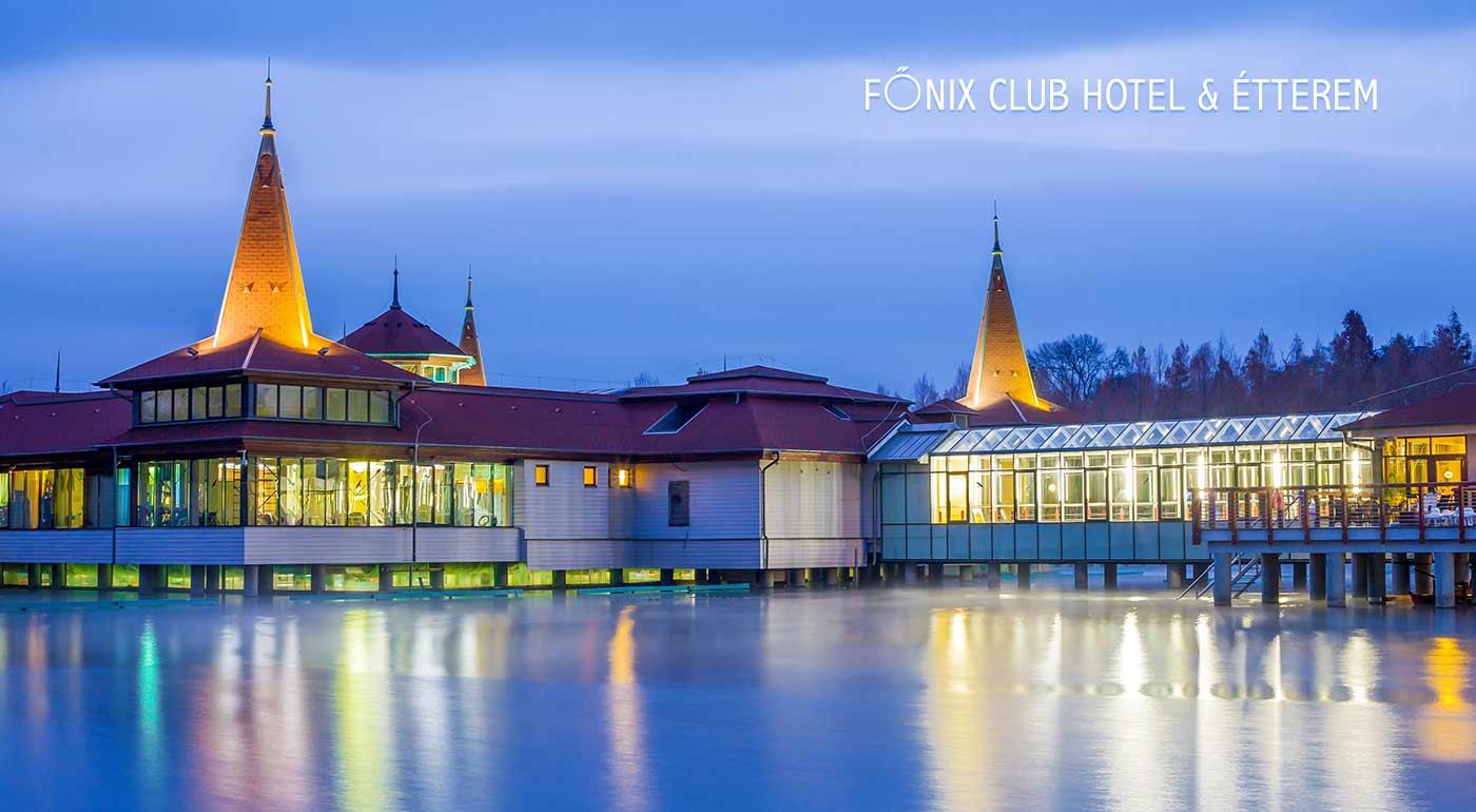 Fotka zľavy: Wellness v Maďarsku? To je najlepší spôsob ako si poriadne oddýchnuť. Užite si pobyt v kúpeľnom meste Hévíz so slávnym liečivým jazerom v Club Hoteli & Wellness Főnix pre dvoch s polpenziou.