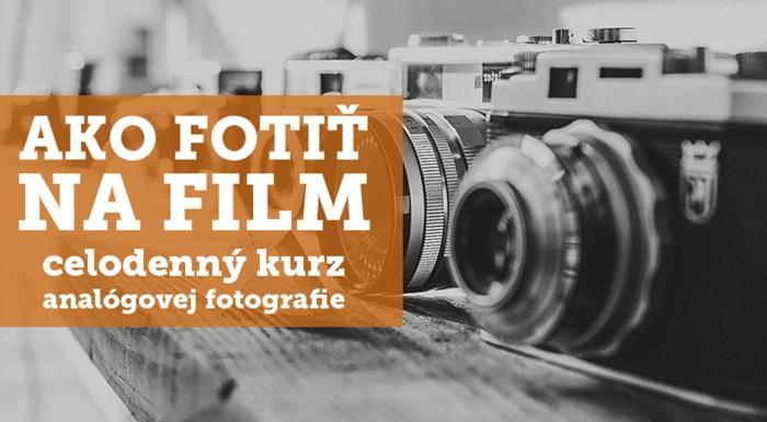 Kurz základy analógovej fotografie v Bratislave