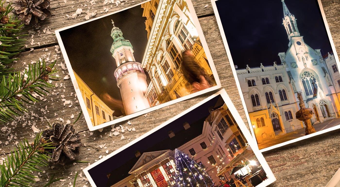 Maďarský Šopron: vianočné trhy a ochutnávka exkluzívnych čokolád pre mlsné jazýčky