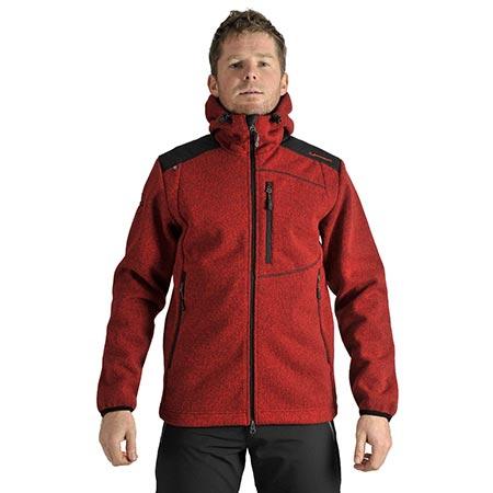 Benesport pánska bunda Gerlach - červená, veľkosť M