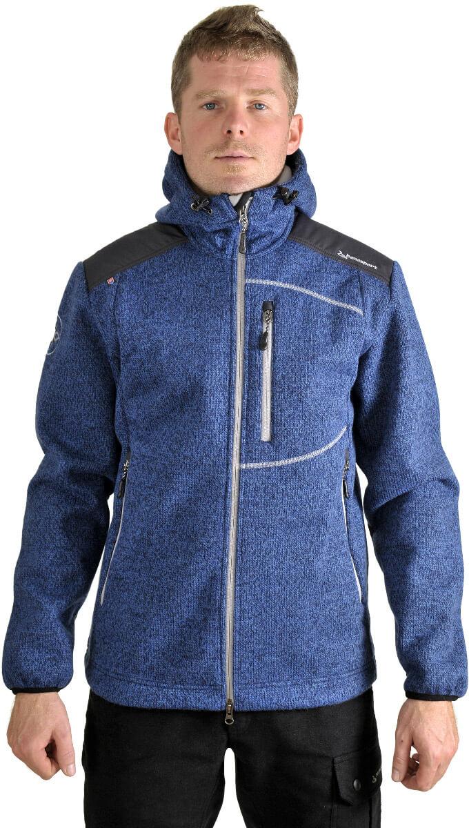 Benesport pánska bunda Gerlach - modrá, veľkosť M