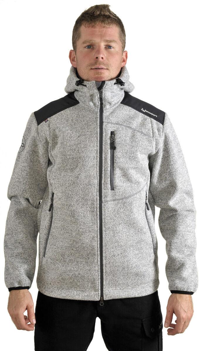 Benesport pánska bunda Gerlach - sivá, veľkosť XXXL