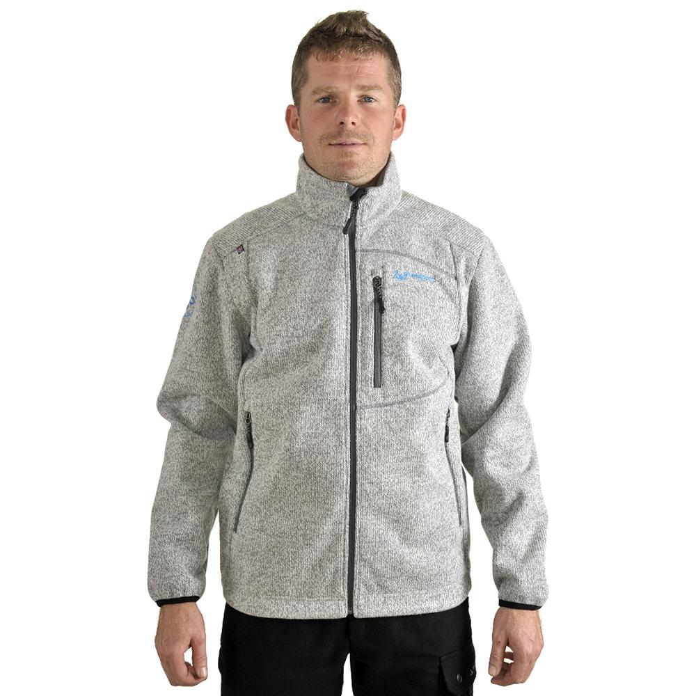 Benesport pánska bunda Záhorie - sivá, veľkosť XL