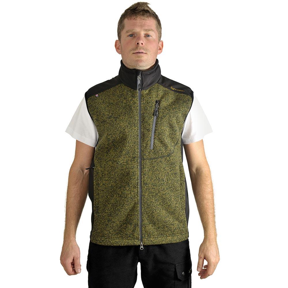 Benesport pánska vesta Pirc - zelená - veľkosť M