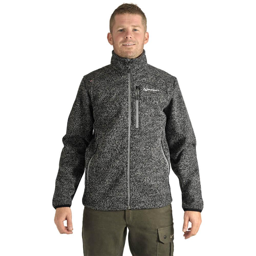 Benesport pánska bunda Záhorie - čierna, veľkosť M