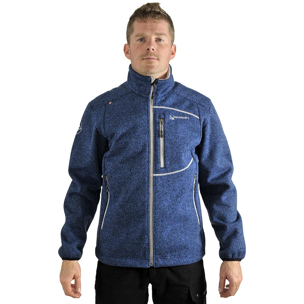 Benesport pánska bunda Záhorie - modrá, veľkosť M