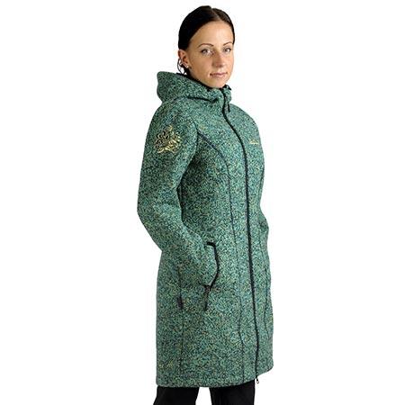 Benesport dámska bunda Pipitka - tyrkysová, veľkosť XXL