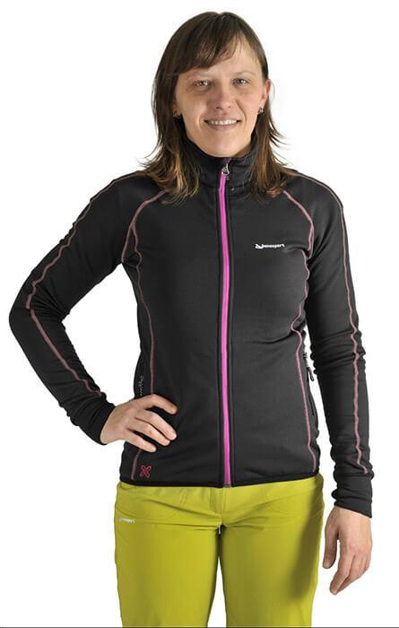 Benesport dámska bunda Krížna - čierna, veľkosť L