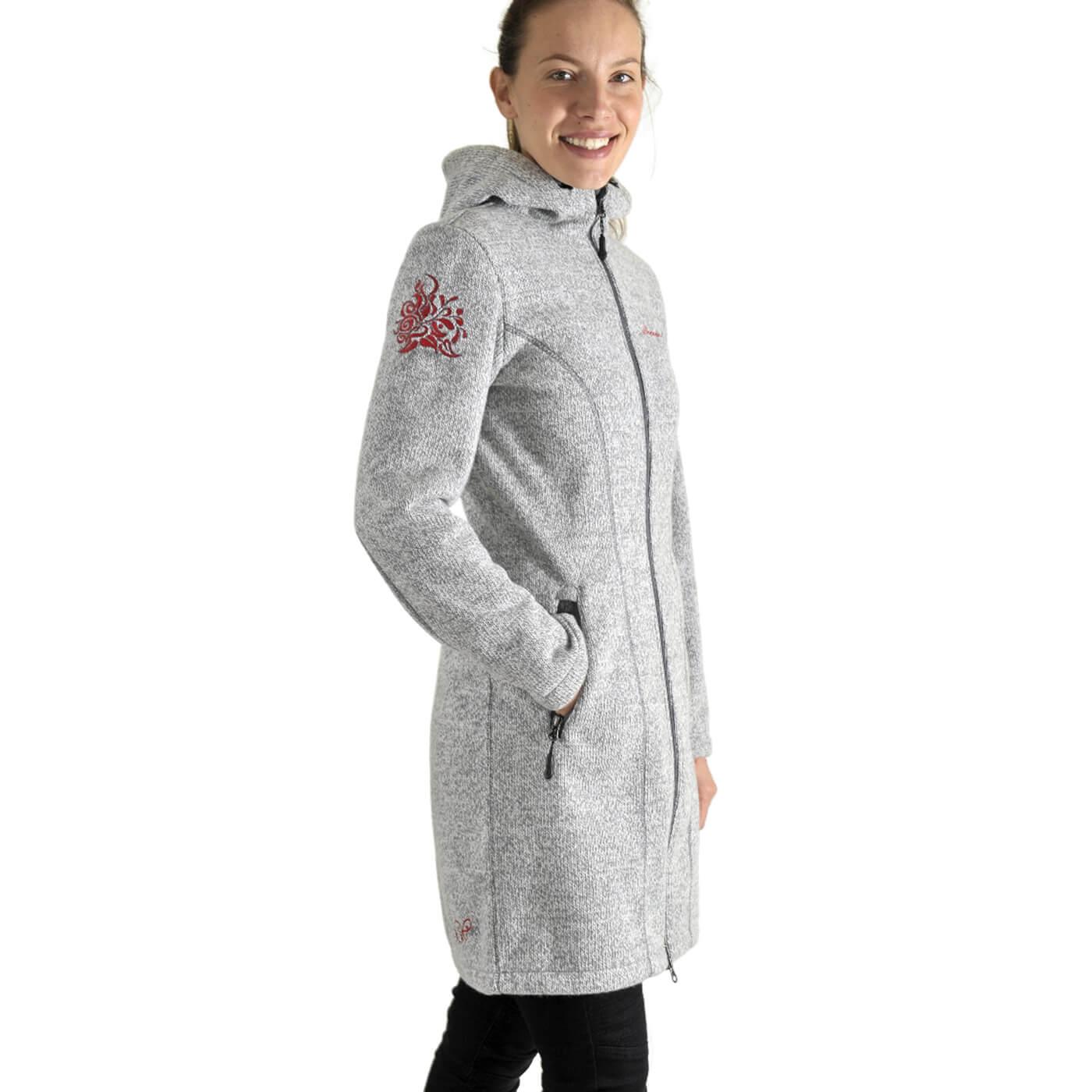 Benesport dámska bunda Pekelník - sivá, veľkosť S