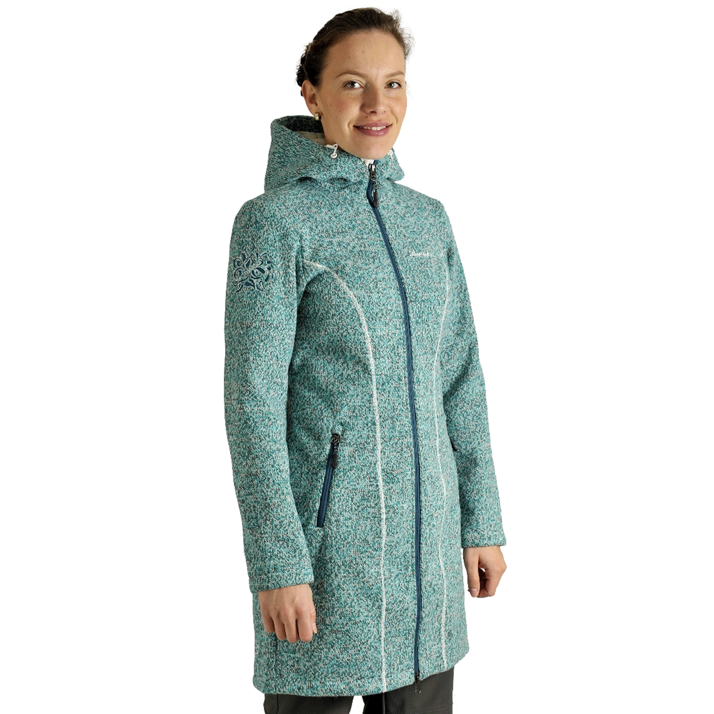 Benesport dámska bunda Pipitka - zelená, veľkosť XXL